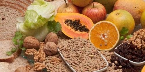 Alimente care conțin fibre