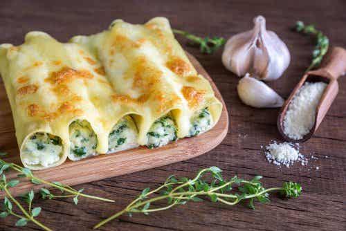 Descoperă o rețetă de cannelloni cu legume