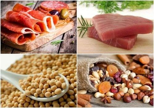 Alimente proteice pentru controlul diabetului de tip 2