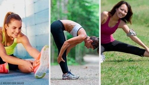 Întinderi pentru flexibilitatea picioarelor în aer liber