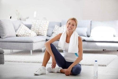 Sală de fitness la tine acasă