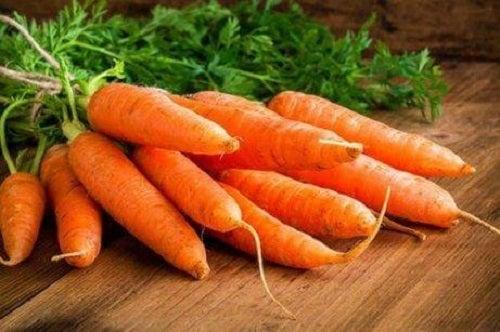 Morcovii sunt alimente pentru sănătatea ochilor