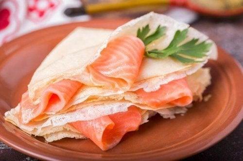 Sandviș cu pește