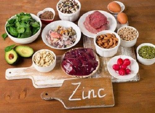 Cele mai cunoscute alimente bogate în zinc