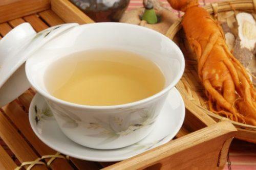 Ceai de ginseng pentru gastrită
