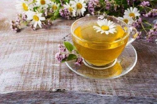 Ceai de mușețel pentru gastrită