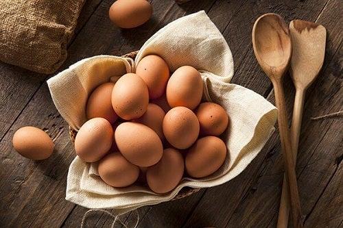 Ouă crude contra căderii părului