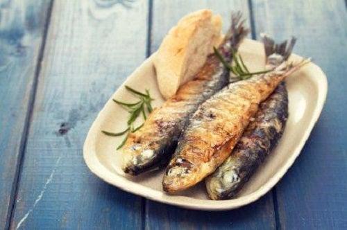 Peștele pe lista de alimente bogate în iod