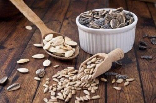Semințele care conțin zinc