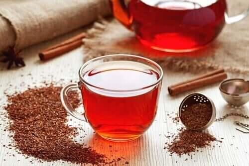 Ceai rooibos în remedii pentru anemia prin carență de fier