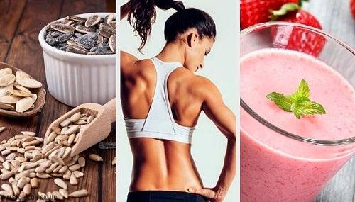Câștigă mușchi cu dieta vegană