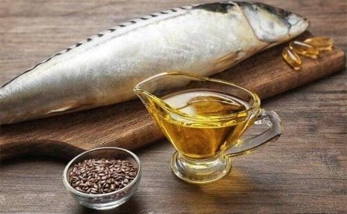 Grăsimi esențiale pentru creier din pește și semințe