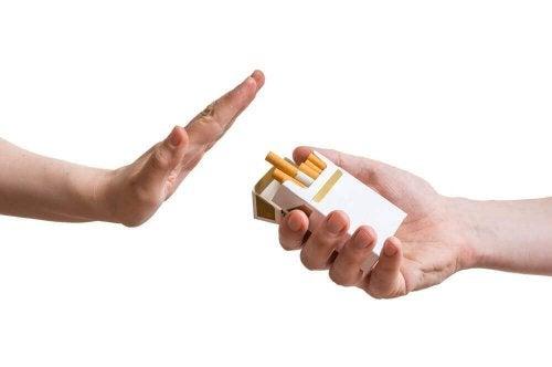 Persoană care refuză să consume tutun