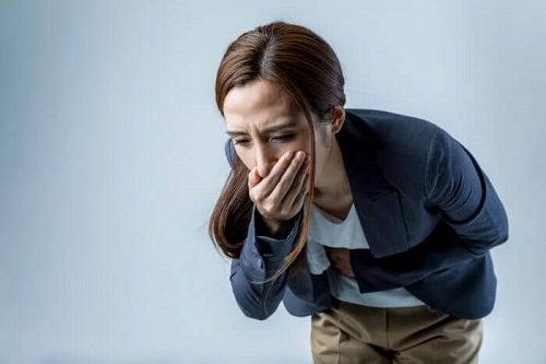 Femeie care ia Prozac pentru depresie