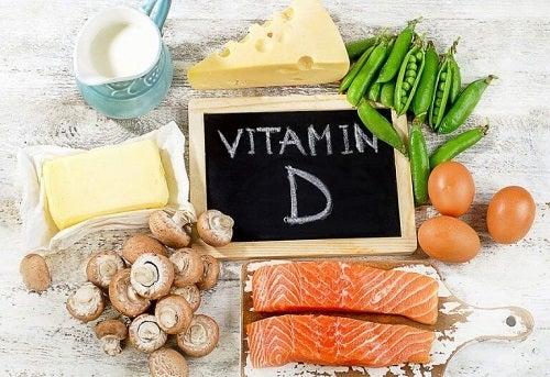Alimente bogate în vitamina D