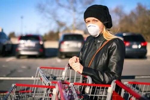 Contaminarea cu coronavirus la cumpărături este foarte probabilă