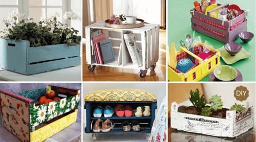Încearcă 7 idei de lucru manual cu lăzi și cutii