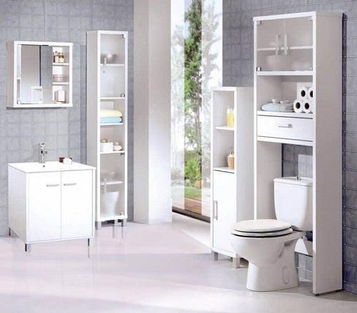 Mobilier de baie impecabil