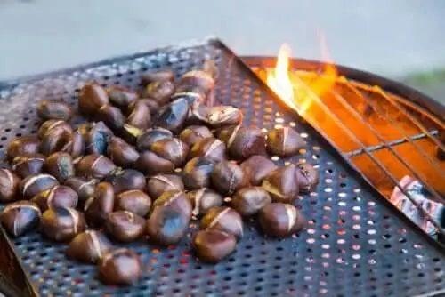 Rețete de castane pe grill