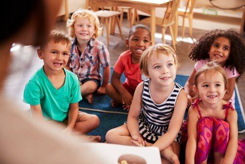 Colectiv divers în cea mai bună școală pentru copilul tău