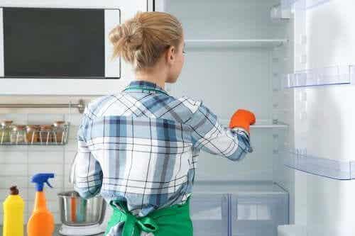 8 metode ecologice pentru curățarea frigiderului