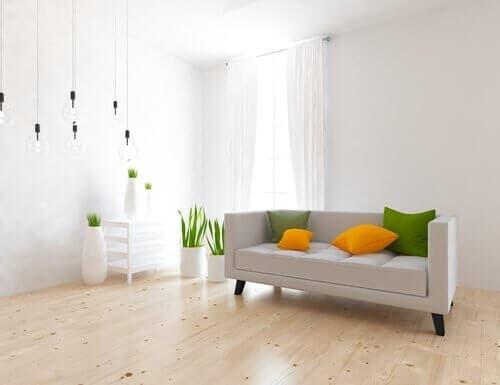 Sufragerie care respectă principalele principii ale minimalismului