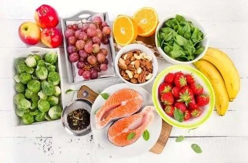 Alimente care exemplifică beneficii ale dietei mediteraneene