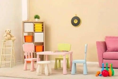 Cum să mobilezi camera copilului în stil minimalist