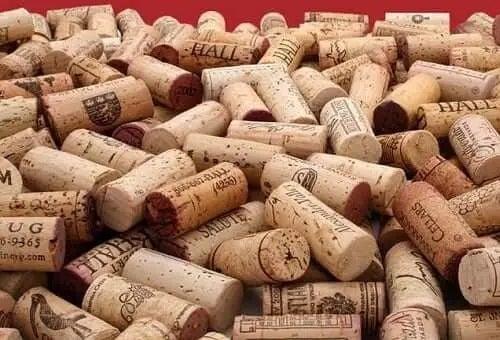 Dopuri de sticle de vin din plută