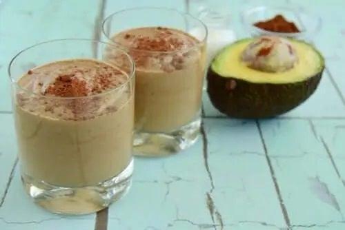 Dulciuri cu avocado și ciocolată