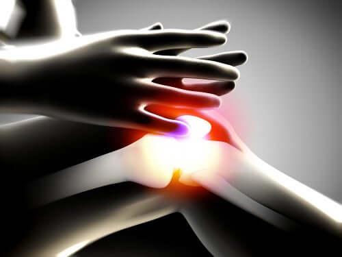 Genunchi afectat de osteoartrită