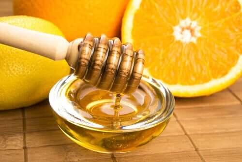 Bol de miere cu portocală