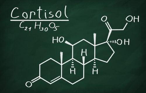 Formula chimică a hormonului cortizol