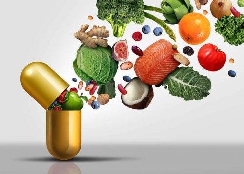 Vitaminele solubile în apă se găsesc în alimente