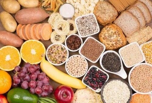 Alimente care conțin zahăr