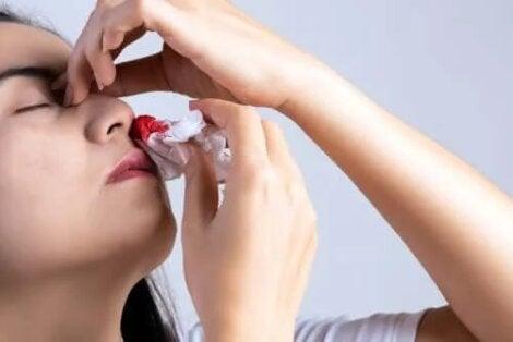 cauzele sângerărilor superficiale