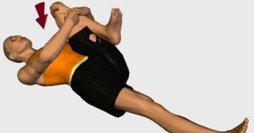 Exemplu de exerciții simple pentru durerea sciatică