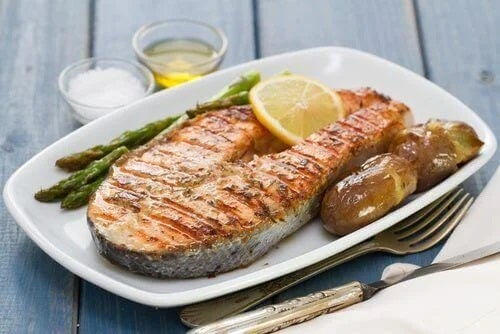File de pește gătit