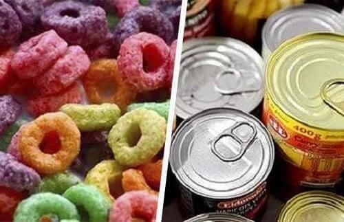 Alimente foarte procesate
