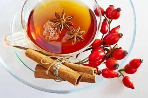 Beneficii ale ceaiului de măceșe