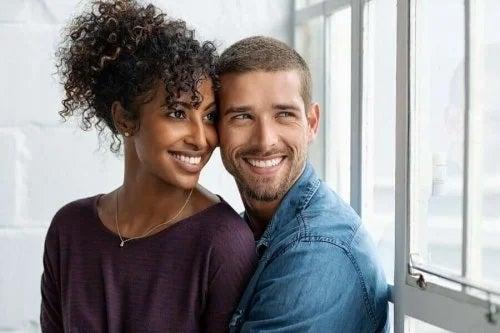 Pereche care știe cum să ai o relație fericită