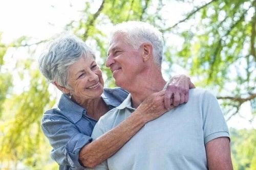 Cuplu în care domnește dragostea