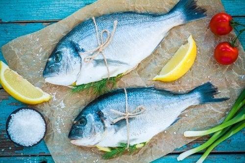 Pește care poate conține mercur
