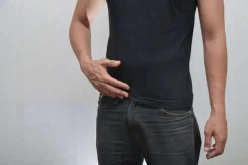 Podeaua pelvină masculină
