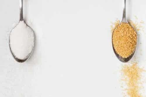 Zahărul brun sau zahărul alb: care este mai bun?