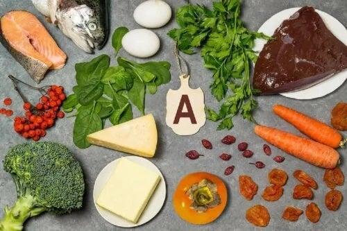 Alimente care conțin vitamina A