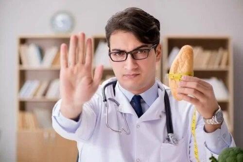 Medic ce interzice consumul de pâine