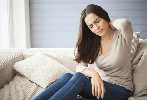 Persoană cu fibromialgie