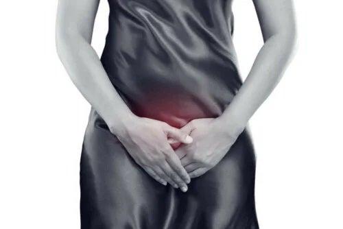 Femeie cu probleme urinare