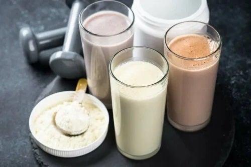Shake-uri de proteine pentru fereastra anabolică